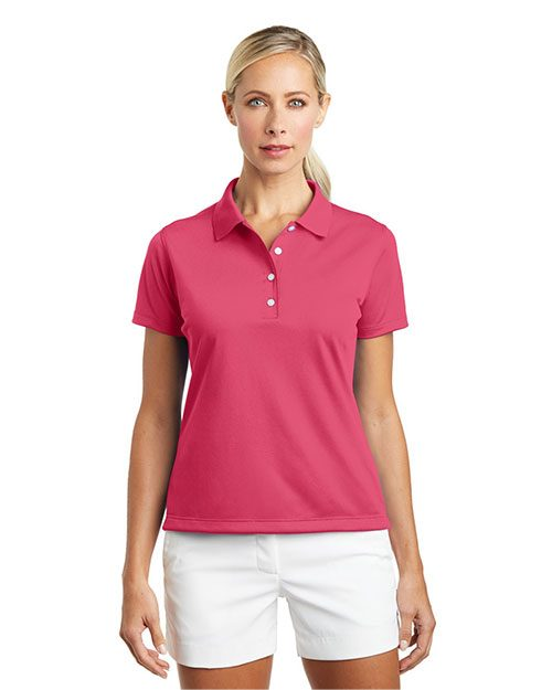 ladies' nike tech basic dri-fit polos