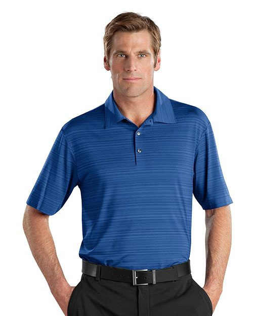 nike elite series dri-fit heather fine line bonded polo
