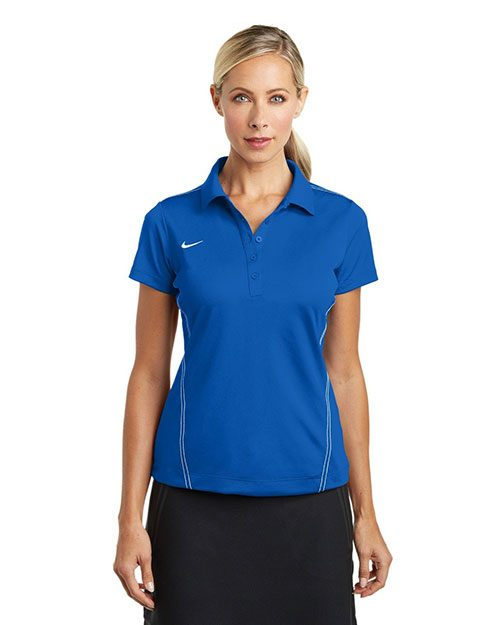 ladies' nike dri-Fit sport swoosh pique polos