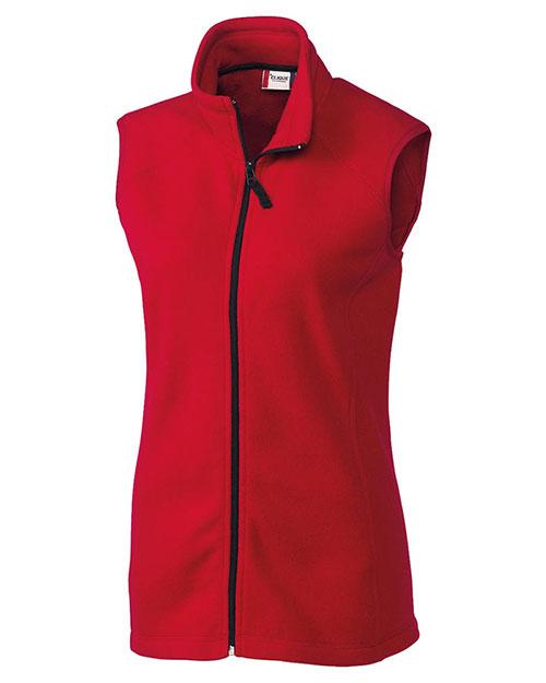 clique ladies' summit full-zip vest