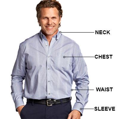 cb size chart men